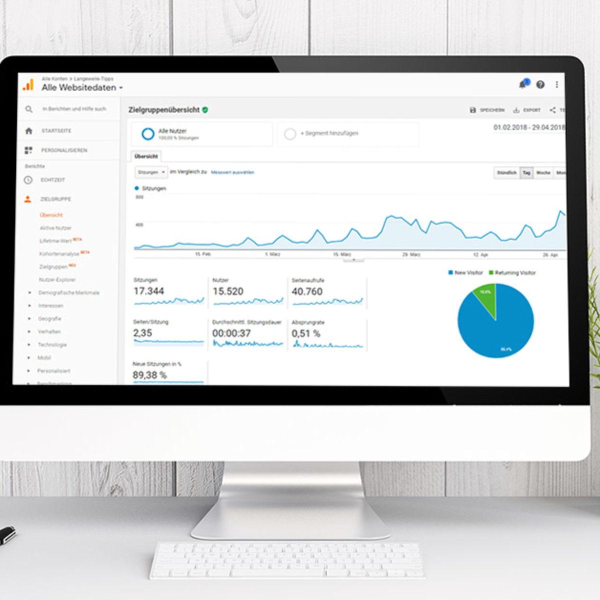 Onpage Suchmaschinenoptimierung Ihrer Webseite