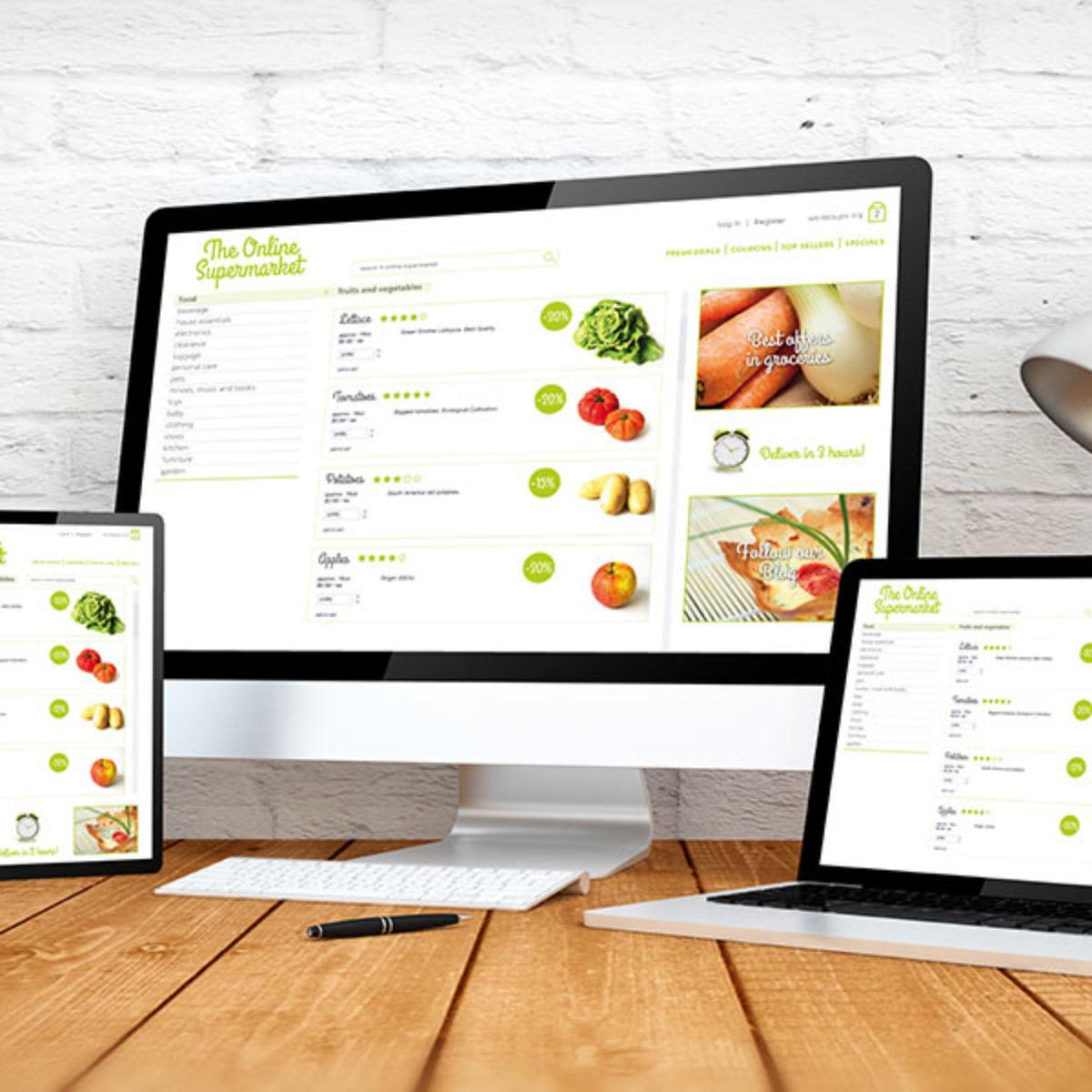 Webdesign, responsive Webseite