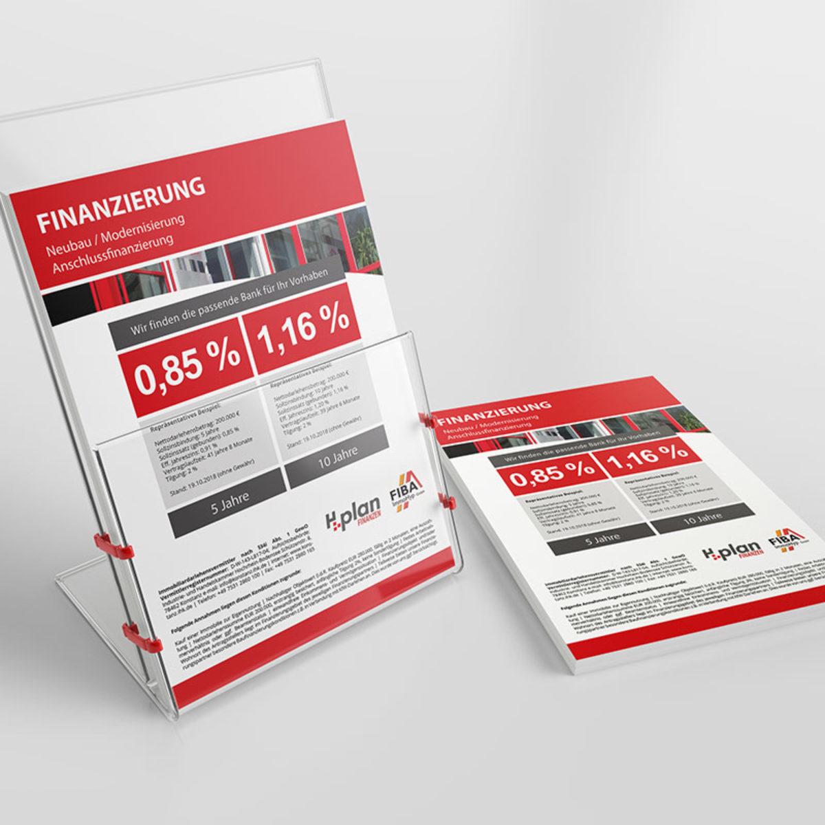 Handzettel Design Hplan Finanzen Jesana Media