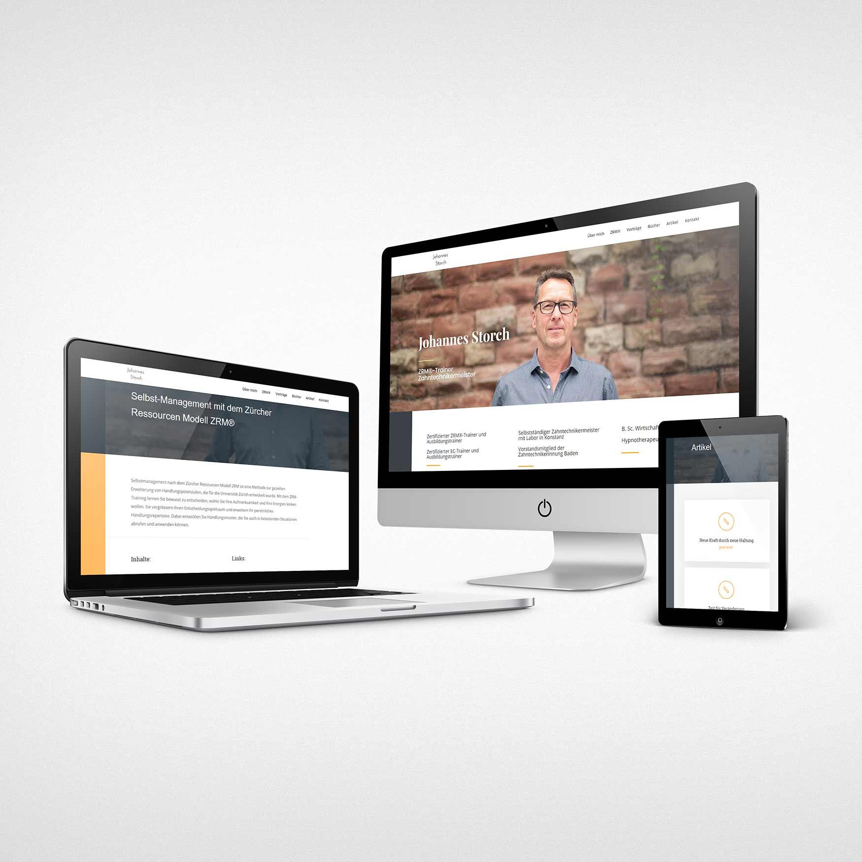 webseite professionell erstellen lassen
